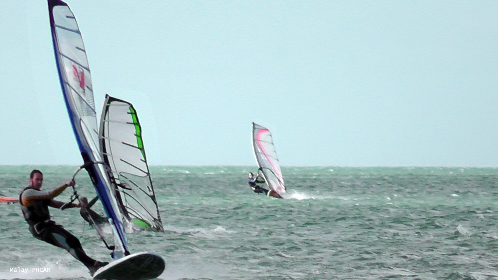 Le windsurf, par Malay Phcar