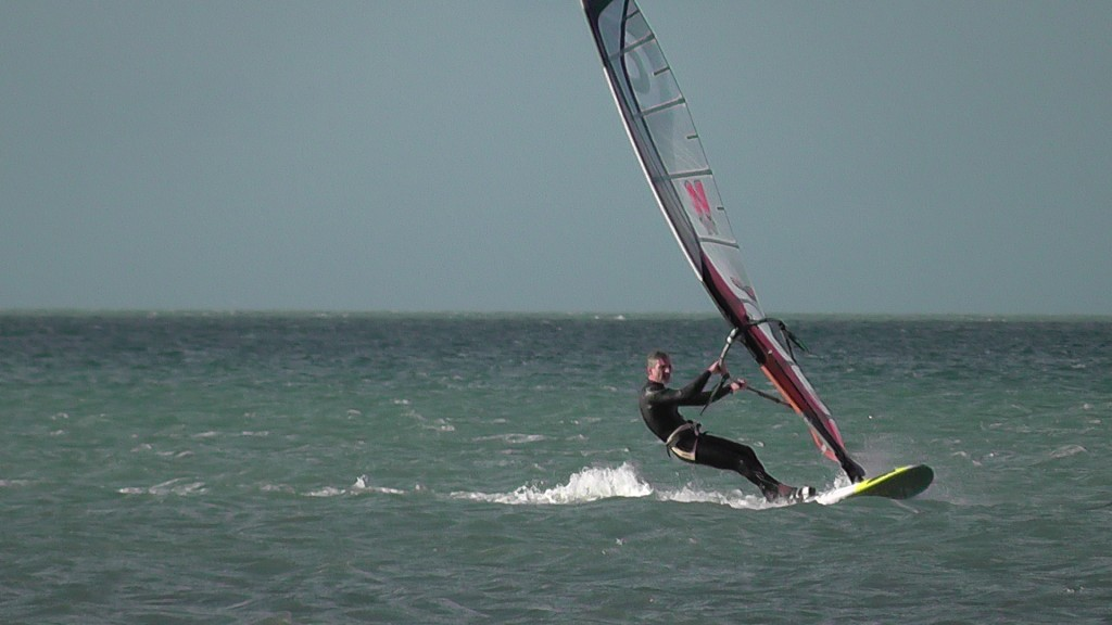 Le windsurf à Courseulles
